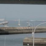 田尻艇出港。いってらっしゃい
