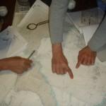 宿では、航海計画
