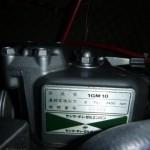 エンジン:ヤンマー1GM10