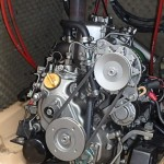 錆びの無い美しいエンジン