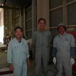信天翁の制作担当、中村さん(右)