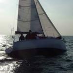 Zen24、納艇・進水 2013年1月21日 (2)