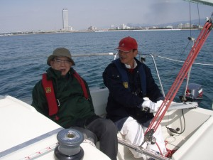 古田先生と小山さん