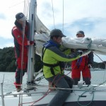 青木ヨット 大阪~横須賀、長距離外洋航海ヨット・トレーニングコース