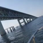 海からみる関空連絡橋