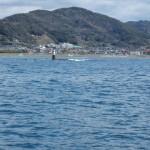 5.漁港入り口北側の干出岩を   避ける