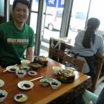 新鮮な海鮮丼(^^)