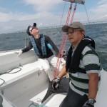 青木ヨットスクールBKB前期大阪コース 2012年9月9日