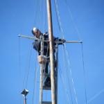 信天翁二世号、メンテナンス 2012年11月