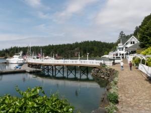 Roche harborへ到着